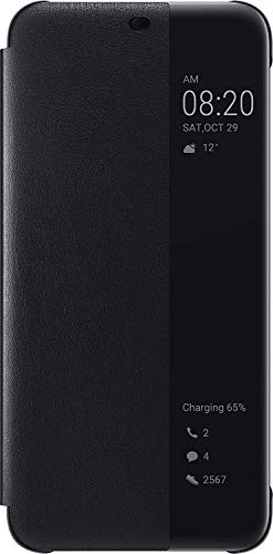 HUAWEI View Cover - Funda para Mate 20 Lite, Color Negro