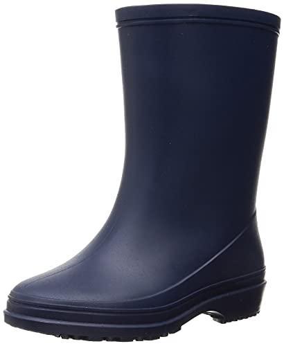 [アキレス] レインブーツ 長靴 軽量 日本製 18cm~24cm E キッズ 男の子 女の子 OFR 0520 ネイビー 18.0 cm