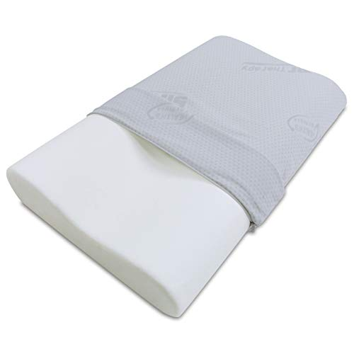 Baldiflex Almohada Espuma Viscoelástica - Modelo Ortocervical - Funda Silver Safe