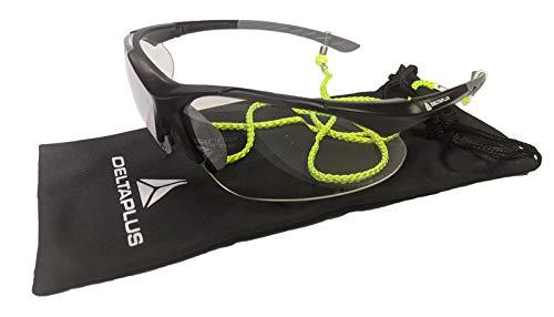 Elvex by Delta Plus RX500 - Gafas de Seguridad con Aumento de 2,5 aumentos, Incluye Bolsa de Transporte de Microfibra y cordón HiViz