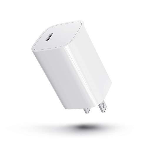 PD 充電器 20W USB-C 急速充電器 USB-C電源アダプタ 小型 軽量 コンパクトサイズ Type-C急速充電器 ACアダプター PSE認証済み iPhone 12/ 12 Pro /12 Mini対応/iPhone 11 / iPhone X /iPhone8 /Xperia/GALAXY等各種対応