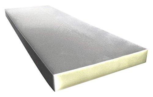 IZO All Supply Upholstery Foam Cushion Medium Density, 4' H x 24' W x 72' L
