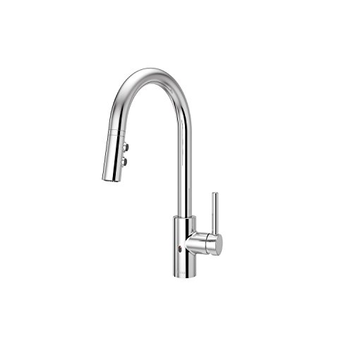 Pfister LG529ESAC Stellen Touchless Pull Down Kitchen Faucet with React Electronic Motion Sensor, Polished Chrome