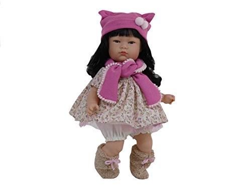 Nines d'Onil 845 Asiatischen Puppe Tai Blumen, Mehrfarbe