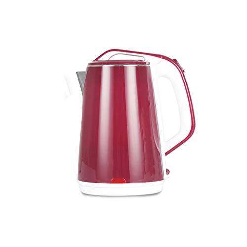 SCDZS Acero Inoxidable hervidor eléctrico 2.3L de Agua Caliente de la Caldera de calefacción Anti seco de ebullición del pote del té de Aislamiento térmico Calentador