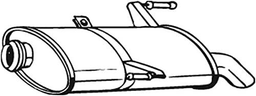 Bosal 190-501 Silencieux arrière