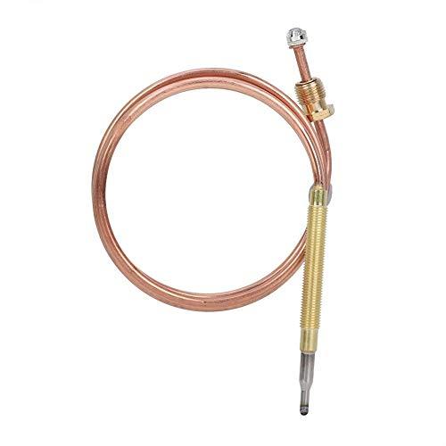 Raguso Universal Kamin Thermoelement Gas Thermoelement Heizung Gasbrenner Ersatz Gasheizung Zubehör für BBQ Gasheizung