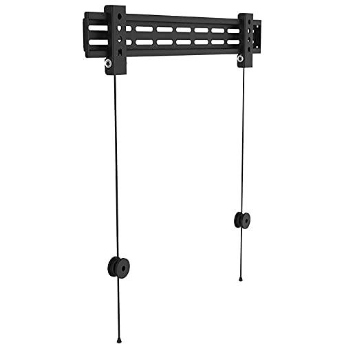 Soportes de pared para TV Soporte para TV montado en la pared Soporte para monitor de TV LCD de 26-60 pulgadas con dos orificios Apertura de la pared del gabinete y una pantalla plana Adecuado para un