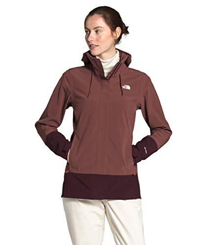 The North Face Apex Flex DryVent - Giacca da donna, colore: Marron viola/Root Brown, 1X