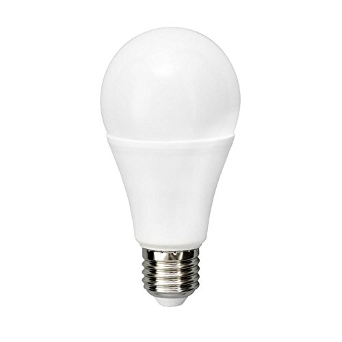 MÜLLER-LICHT 400252 A+, HD95-LED Lampe Birnenform Ersetzt 75 W, Plastik, 13 W, E27, weiß, 13,4 x 6,6 x 6,6 cm