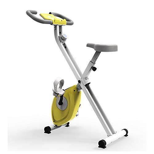 JUAN Bicicletas De Ejercicio Plegable Exercise Bike Estática Fitness Bicycle para Gimnasio Equipo Multifuncional
