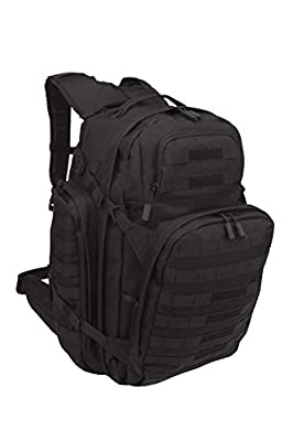 SOG Barrage Tactical Internal Frame Backpack, 64.3-Liter Storage, Black