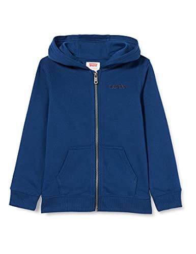 Levi's Kids LVB BASIC FZ HOODIE C947 Hooded Sweatshirt, ESTATE BLUE, 14 ans Garçon