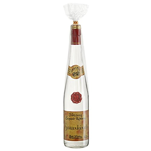 Original Höllberg Sauerkirsch Brand Réserve 42% vol. 0.7L   Premium Obstbrand mit edlem Kirsch Aroma   Edelbrand aus Familienbrennerei