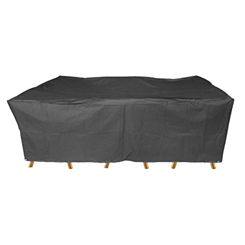 WXFN Garden Furniture Cover Rectangular Patio Table Chairs Sofa Covers Outdoor Furniture Covers 210D Oxford Fabric,126 * 126 * 74cm