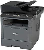 Brother MFCL5700DN Stampante Multifunzione Laser con Fax, Bianco e Nero, Velocità di Stampa 40 ppm, Rete Cablata (no...