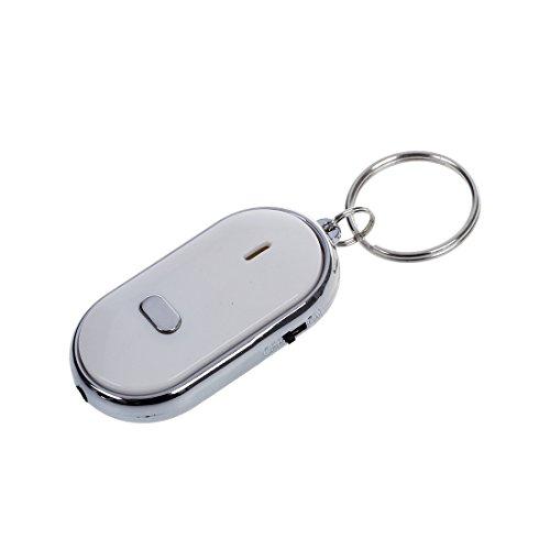 Yaootely Silbato Buscador para Llave Localizador Remoto LED Intermitente Pitido Encontrar Llaves Perdidas