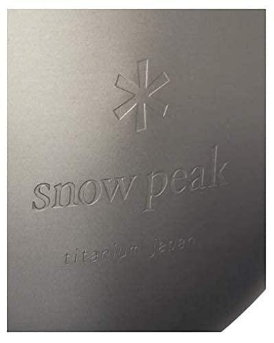 スノーピーク(snowpeak)チタン丸型スキットル(ラウンド)T-015