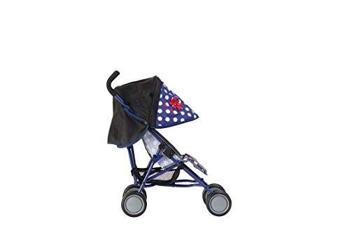 Silver Cross Pop-poppenbuggy - stof Limited Edition Blue Polka Dot. Voor kinderen van 18 maanden tot 3 jaar