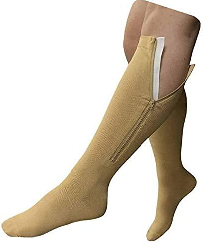 NextGen Active Calf High Zipper Compression Socks...