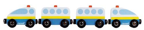 Janod - J08531 - Véhicule Miniature - Story - Train Pompiers