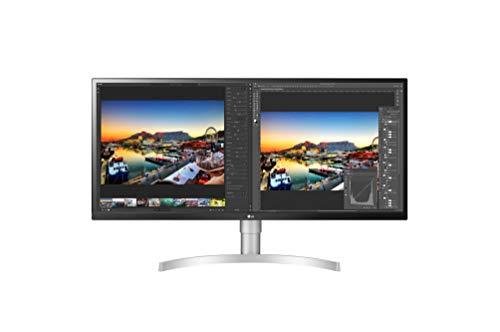 LG 34WL850-W LED Display 86,4 cm (34 Zoll) UltraWide Quad HD Flach Schwarz, Silber - Computerbildschirme (86,4 cm (34 Zoll), 3440 x 1440 Pixel, UltraWide Quad HD, 5 ms, Schwarz, Silber)