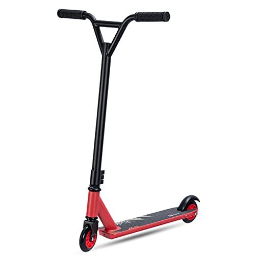 Hou Hexin Trade Scooters Shadow Stunt Scooter Edades de 8 a 14 años, Tanto para Principiantes como para Jinetes intermedios - Ruedas de Aluminio de 30 mm y Marco liviano (Color : B)