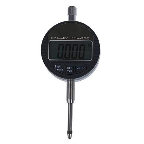 PQZATX 0-25,4 Mm / 1 Zoll Mess Uhr Digitale Mess Uhr Elektronisches Mikrometer Pr?Zisions Werkzeug 0,01 Mm / 0,0005 Zoll Tester Werkzeuge