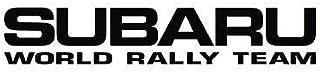 Expressive Vinyls Subaru World Rally Team Vinyl Sticker Decal JDM WRX STI Impreza Rally Forester
