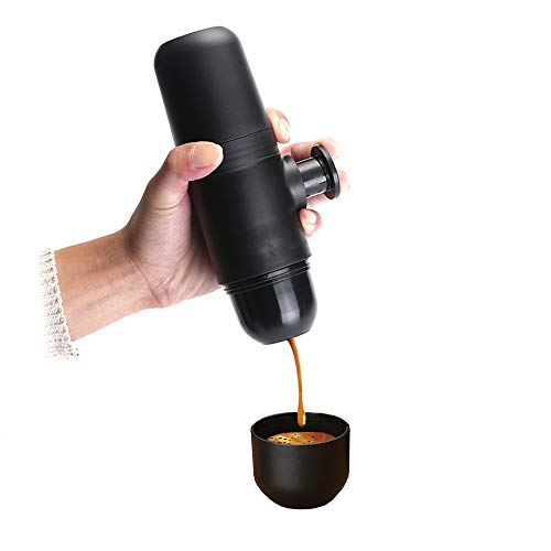 Joy-Now Espresso Machine Mini Handheld - French Press Coffee Maker for Camping Fishing Outdoor Travel