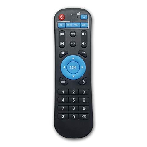 Bincolo Original Replacement Remote Control Controller for Android TV Box MXQ, MXQ PRO, MXQ-4K, M8S, M8N, T95, T95M, T95N, T95X, X96, X96mini, H96, H96 Pro