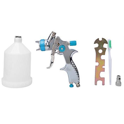 Aerógrafo de aleación de aluminio + Aerógrafo de plástico, LVLP Pistola de pulverización ambiental…