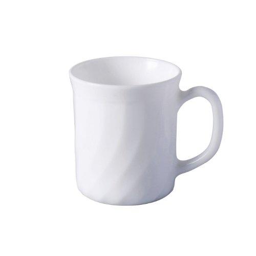 Kaffeebecher Trianon 29 cl Hartglas weiß geformt von Arcoroc