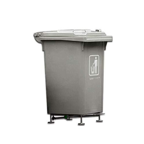 MUMUMI Cubos de Basura, Reciclaje de Residuos de Gran Capacidad para Exteriores Cubos de Basura para Exteriores/Pedal Pedal Pedal Pedal Bins Bastep Paper Bins Thicks Reciclaje Cestas de Reciclaje A