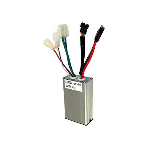 Currie 36 Volt 30 Amp Controller - with 5 Pin Throttle Connector for Schwinn S1000, S750, Ezip E1000 & Izip i1000 Electric Scooters. High Performance Control Module for 1000 Watt Motor, Model: XK-022D