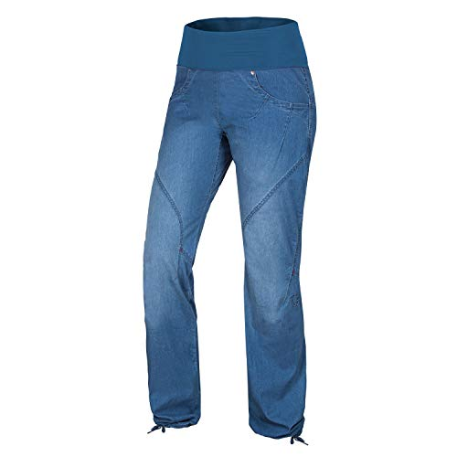 Ocun Noya Jeans W Boulderhose Middle Blue, Blau, M
