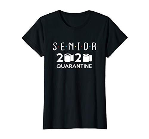 Senior 2020 Toilet Paper Quarantined - Women Boys Girls T-Shirt