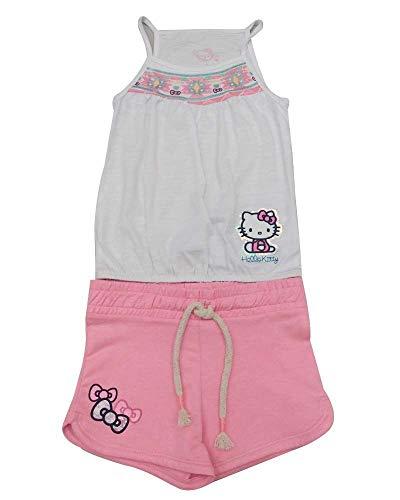 Hello Kitty Conjunto Playera de Tirantes con Short y Estampado (8)