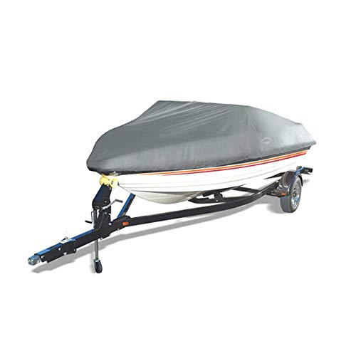 Wake Offshore Easy Slip-On Boat Cover (Grey, Fits: 22 to 24-Feet)