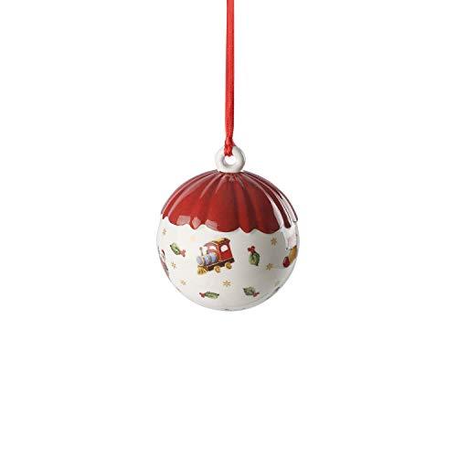 Villeroy & Boch Decorazione Natale Sfera, Bianco, 6 cm