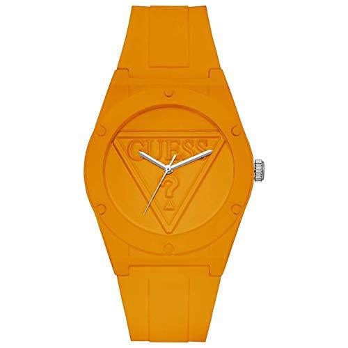 GUESS Reloj Analógico para Unisex Adulto de Cuarzo con Correa en Silicone W0979L11