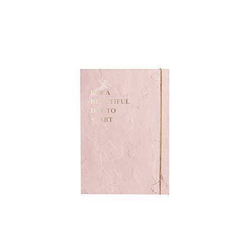 JO & JUDY Klebezettel-Buch Pink - Sticky Notes Notizbuch mit Klebezettel-Organisation - 19,0 cm x 13,0 cm x 1,2 cm