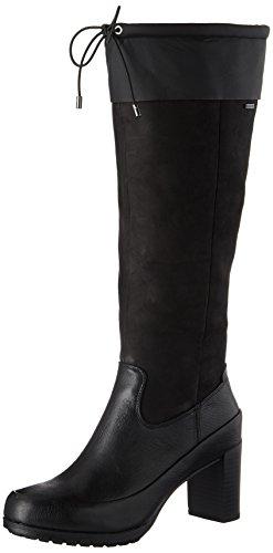 Clarks Londontown GTX, Botas Mujer, Negro (Black Leather), 36 EU