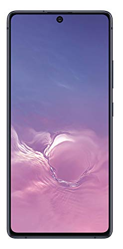 Samsung Galaxy S10 Lite New Unlocked Android Cell Phone | 128GB of Storage | GSM & CDMA Compatible | Single SIM | US Version | Black