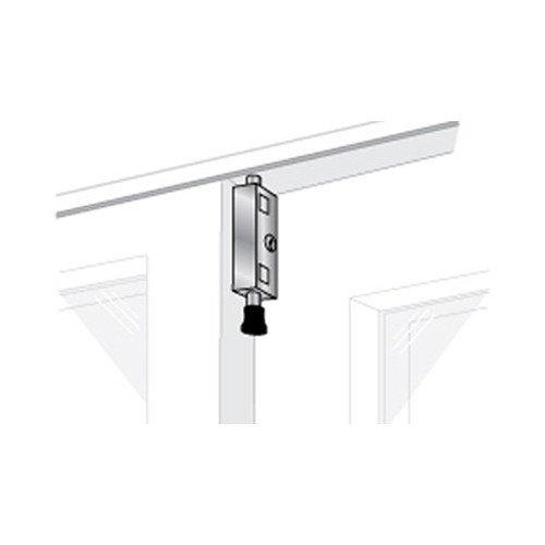 Pro-Lok EPL-106-W Patio Door Lock- Keyed Lg Rectangle (White Finish)