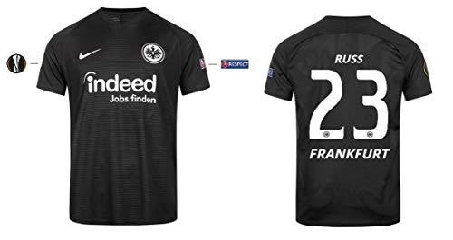 Eintracht Frankfurt Trikot Herren 2019-2020 Europa UEL (Russ 23, XL)