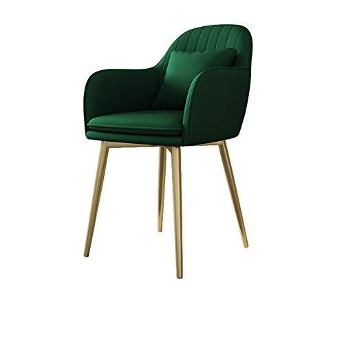 Qhxxtxjis Stoelen Eten, Tuinstoelen Moderne Eenvoud Doek Maken Mode Design|Geschikt voor Bistro Ondersteuning Office Home Room Slaapkamer Keuken Valet Meubels