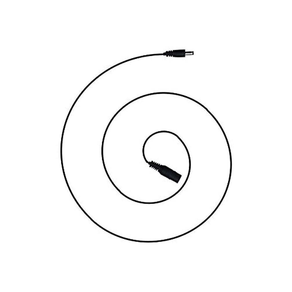 直立損失絶滅した電光ホーム DCケーブル 1m (オス メス) 外径 5.5mm 内径 2.1mm