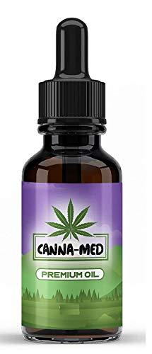 CANNA-MED 10% C-Active 30ML Vital Öl – Tropfen mit natürlichen Zutaten, reich an Fettsäuren, Vitaminen und Mineralien, 100% vegan & frei von Zusätzen