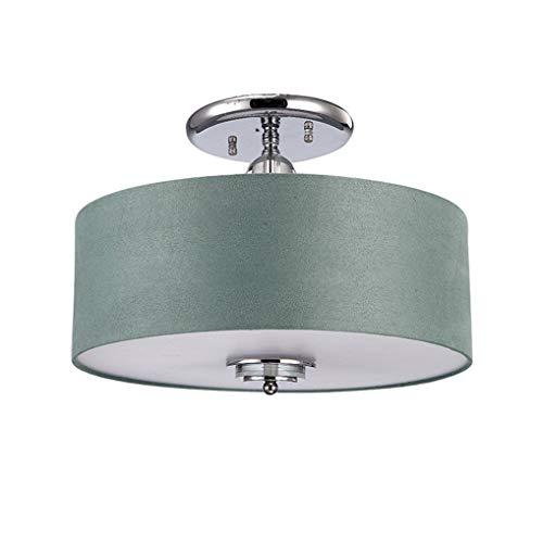 XFZ/Moderne stijlvolle creatieve woonkamerlamp 5 * E27 peer plafondlamp Ø45cm ronde plafondlamp textiel lamp kap metaal plafondlamp max 60W